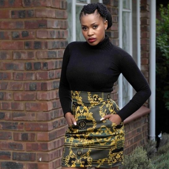 Actress Zenande Mfenyana Gives Birth to a Baby Girl