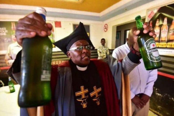 Gabola church, where they praise God while downing whisky and vodka