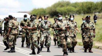 MKMVA arrived in Nkandla yesterday to do defend Jacob Zum