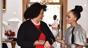 Actress Thando Thabethe buys her mother a beautiful house