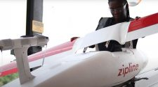 Ghana - First country to deliver COVID-19 vaccines via drones!