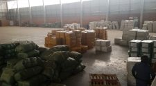 The warehouse near Johannesburg, South Africa, where police discovered a shipment of fake COVID-19 vaccines in November 2020. Courtesy of Interpol