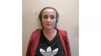 Annica van Staden after her arrest in Boksburg (Photograph: Middelburg Observer)