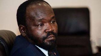South Sudanese Minister of Humanitarian Affairs & Disaster Management Peter Mayen Majongdit