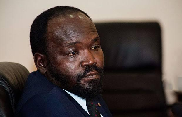 South Sudanese Minister of Humanitarian Affairs & Disaster Management Peter Mayen Majongdit