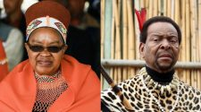 King Goodwill Zwelithini's eldest wife Queen Sibongile Dlamini