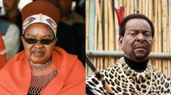 King Goodwill Zwelithini's eldest wife Queen Sibongile Dlamini