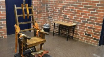 The electric chair or the firing squad.