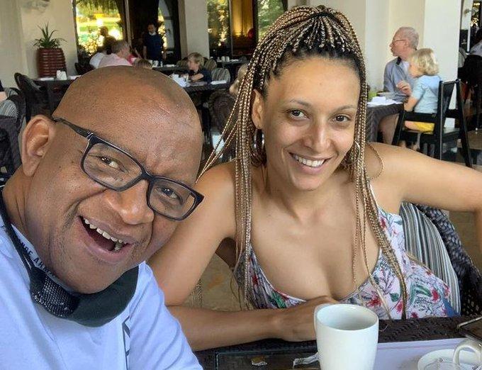 Lebo M And Partner Angela Casara