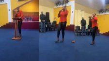Pastor Rains Curses On Members