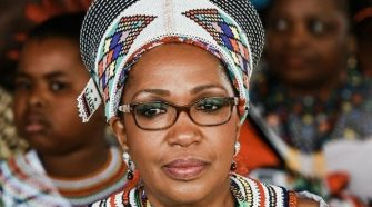 Queen Shiyiwe Mantfombi Dlamini Zulu.
