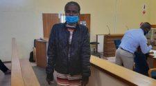 Nancy Majonhi in the Mogwase Magistrate's Court (Ntwaagae Seleka, News24)